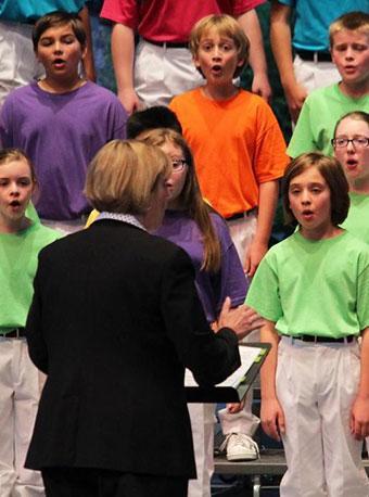 美国科罗拉多童声合唱团音乐会