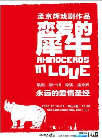 【宁波】2020年秋冬精品戏剧演出季—— 舞台剧《恋爱的犀牛》