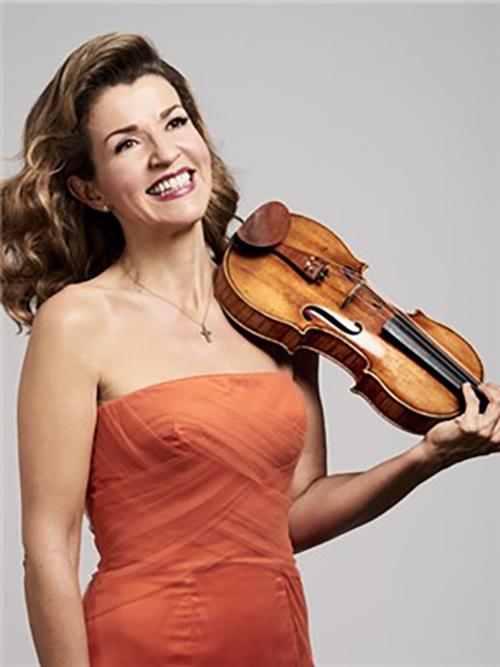 安妮·索菲穆特小提琴独奏音乐会