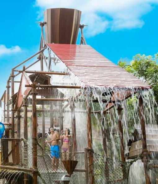 新加坡圣淘沙水上探险乐园