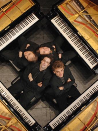 《蓝色猜想曲》格什温钢琴四重奏音乐会