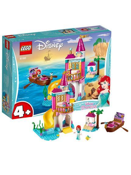乐高迪士尼系列 小美人鱼爱丽儿的海边城堡