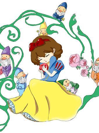 新白雪公主与七个小矮人