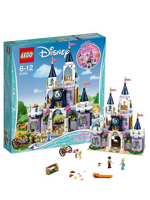 乐高迪士尼系列  灰姑娘的梦幻城堡