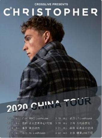 【延期】Christopher巡演