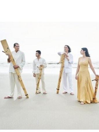 巴西昆塔古竖笛四重奏音乐会