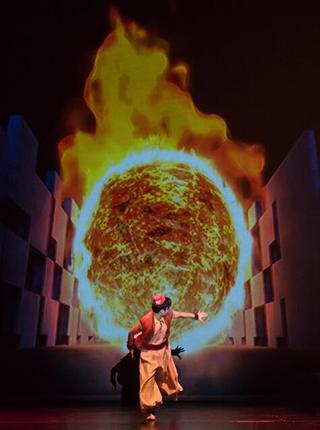 3D亲子音乐剧《阿拉丁与神灯之沉睡精灵》