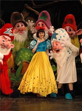 儿童戏剧白雪公主与七个小矮人