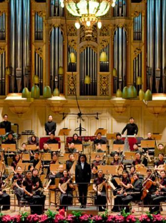 长沙 《华韵盛典》献礼建国民族交响音乐会