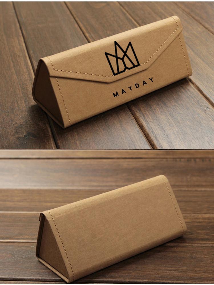 五月天logo 立体可折叠眼镜盒 周边