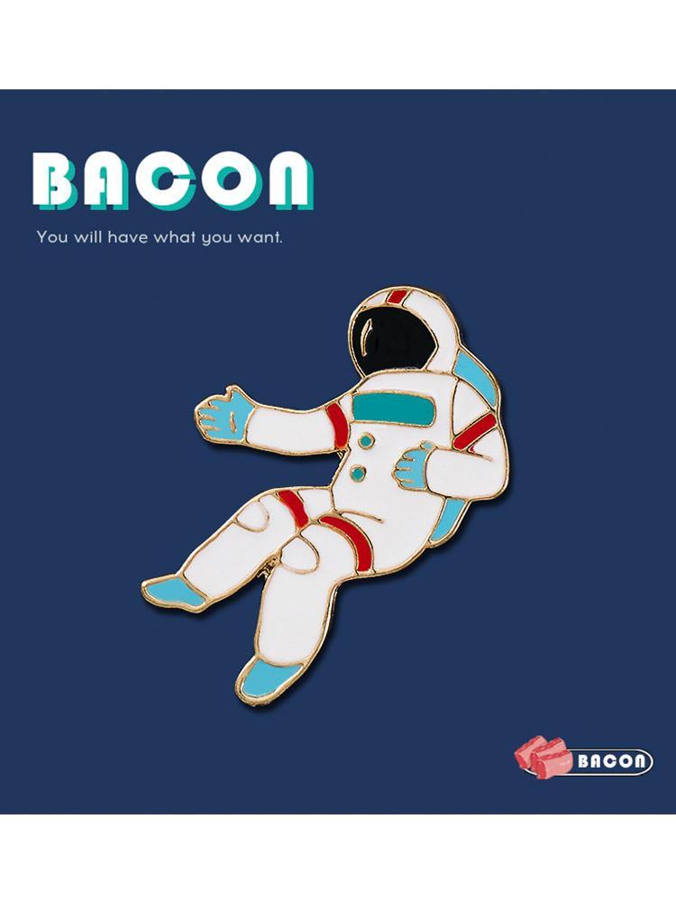 五月天顽固宇航员胸针 日系徽章