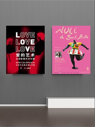 《爱的艺术+妮基·圣法勒》双展套票