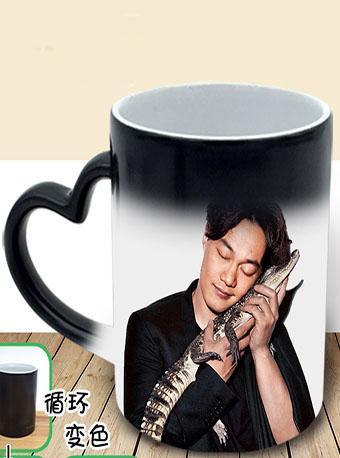 陈奕迅周边 创意礼物星空变色杯