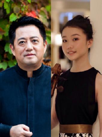 呂嘉、徐暄涵與國家大劇院管弦樂團
