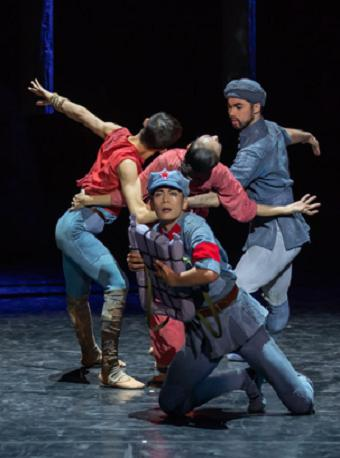 芭蕾《闪闪的红星》