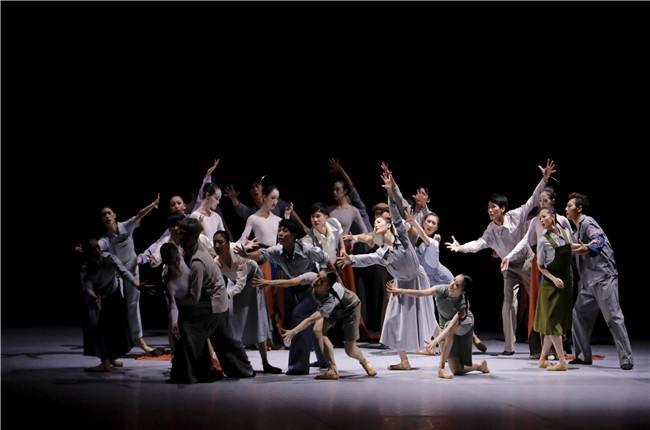 【青岛】芭蕾舞剧《敦煌》「青岛」