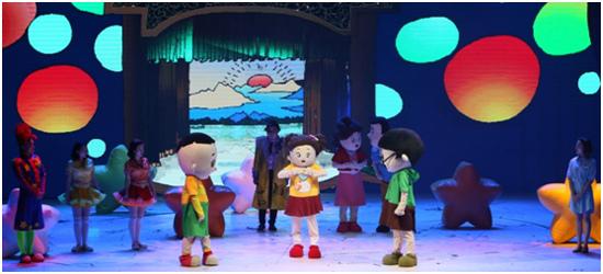 卡通舞台剧《云朵妈妈和棉花糖》