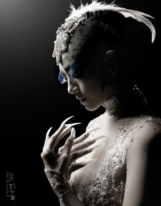 杨丽萍主演大型舞剧《孔雀》
