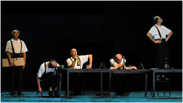 2016北京喜剧院国际喜剧邀请展:丹麦喜剧大师保罗·纳尼作品《天外飞鸿》