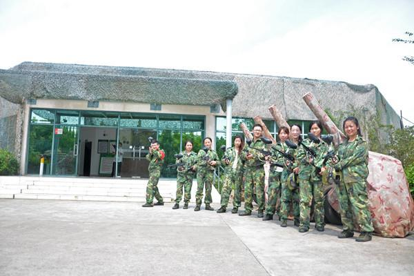 上海海灣國家森林公園室外彩彈射擊