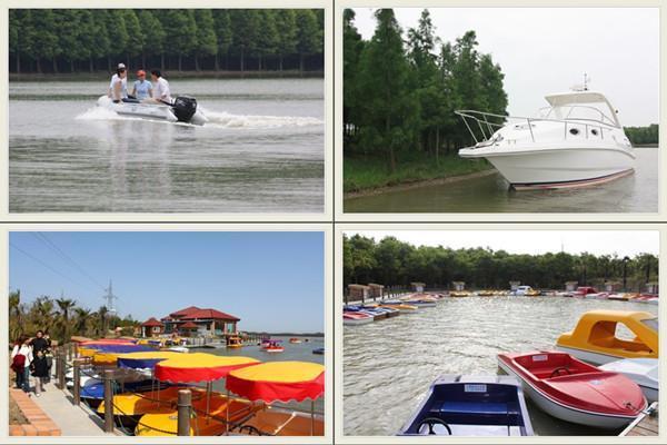 上海海灣國家森林公園水上活動項目