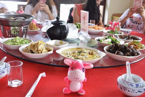 上海海灣國家森林公園風味森林農家菜