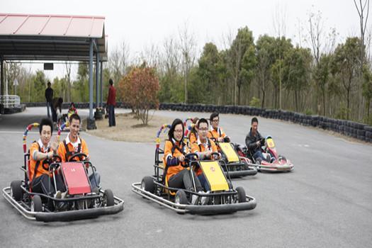 上海海灣國家森林公園森林卡丁車賽