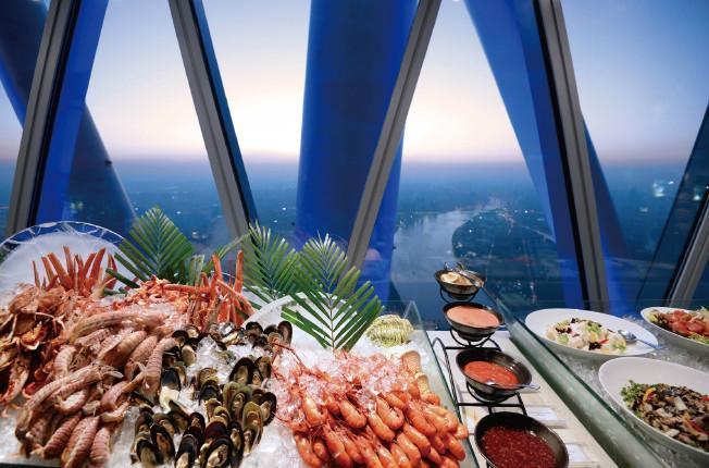 廣州塔璇璣地中海自助旋轉餐廳